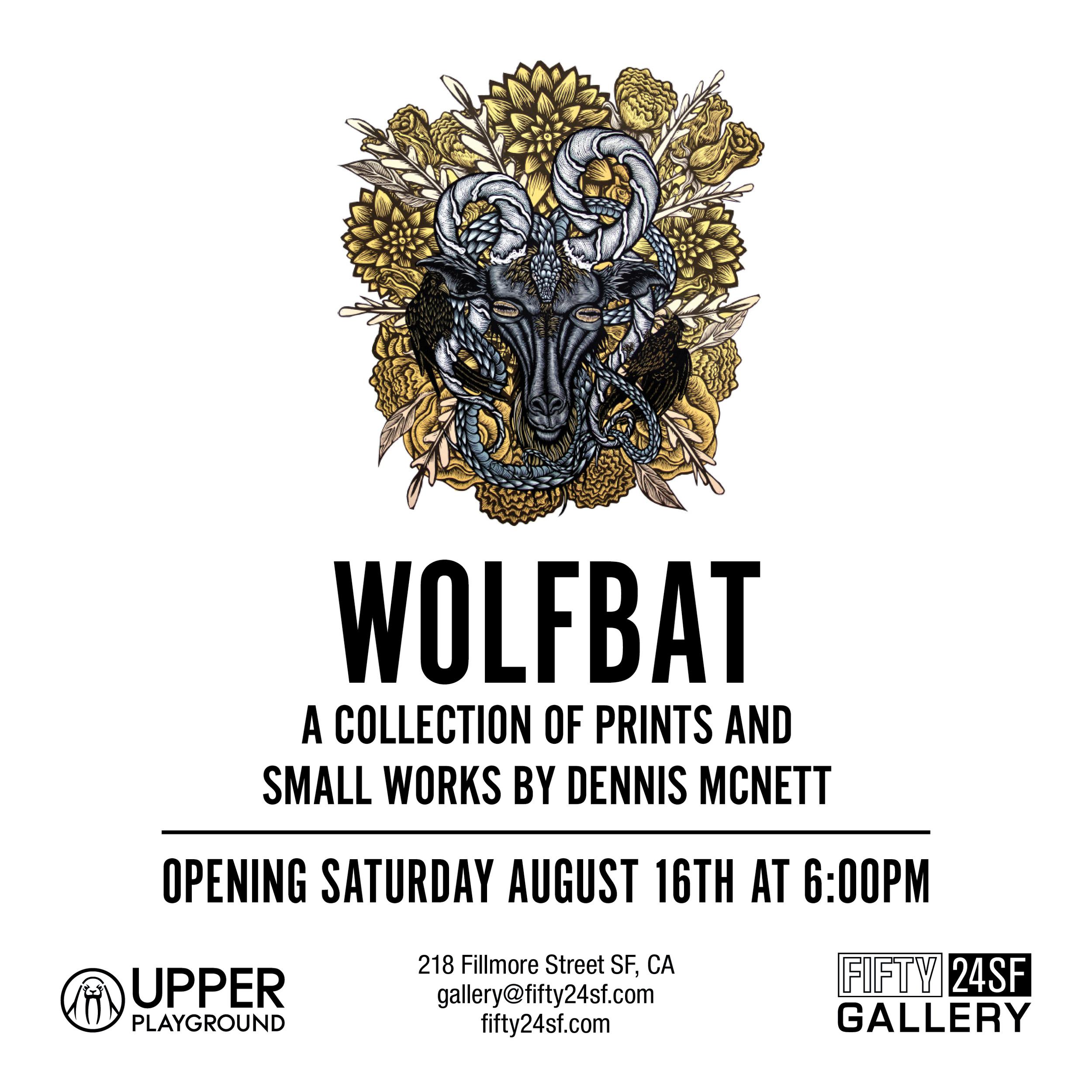 WOLFBAT BY DENNIS MCNETT