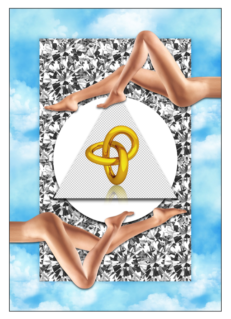 """POLYGON FLESH GOLD DIAMONDS - INFINITE LOOP 1"" - FRANKY AGUILAR"