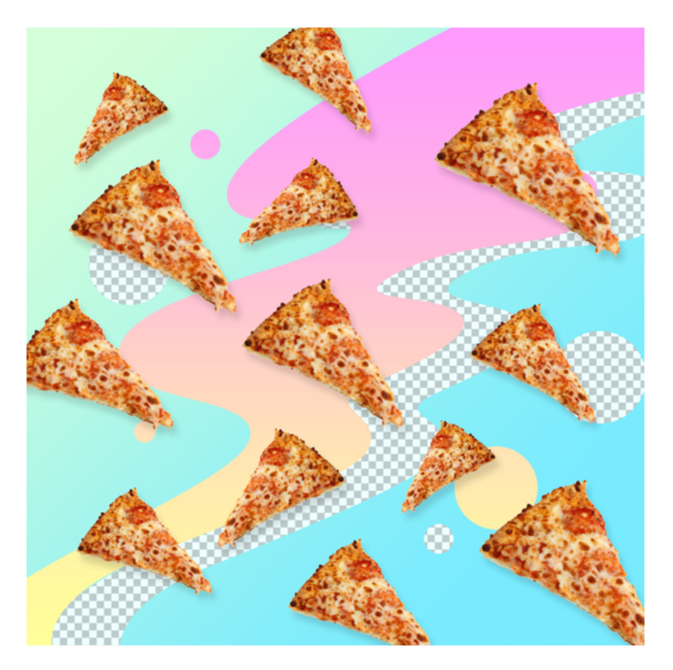 """DIGITAL JUNK FOOD - PIZZA"" - FRANKY AGUILAR"