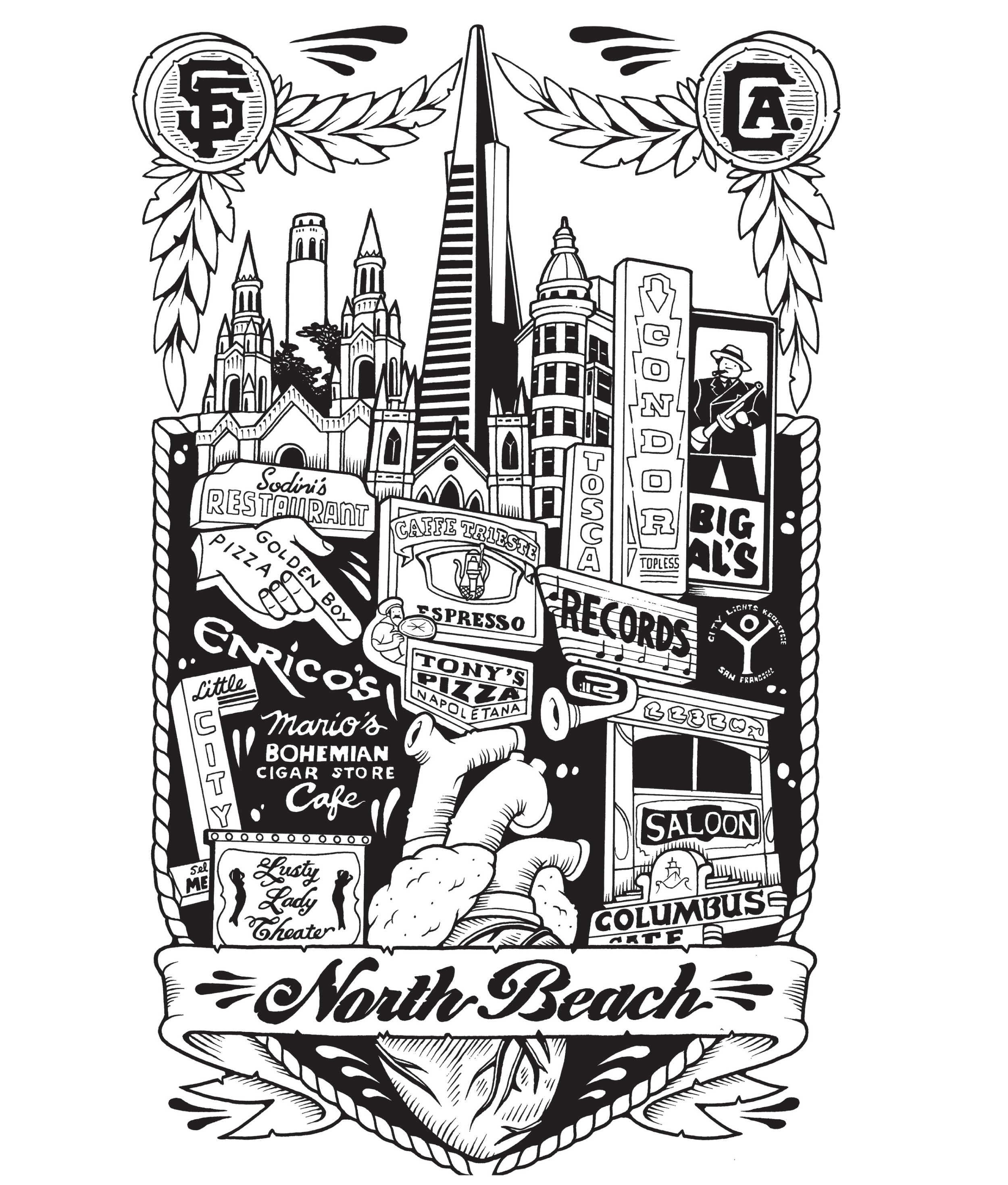 NORTH BEACH - JEREMY FISH
