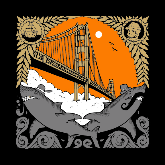 THE GOLDEN GATE - JEREMY FISH