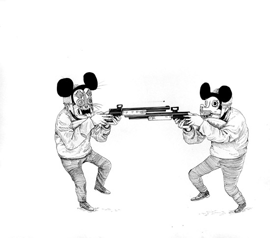 CORAZÓN SANGRANTE BY SANER @ FIFTY24SF - MICKEY SHOOTOUT