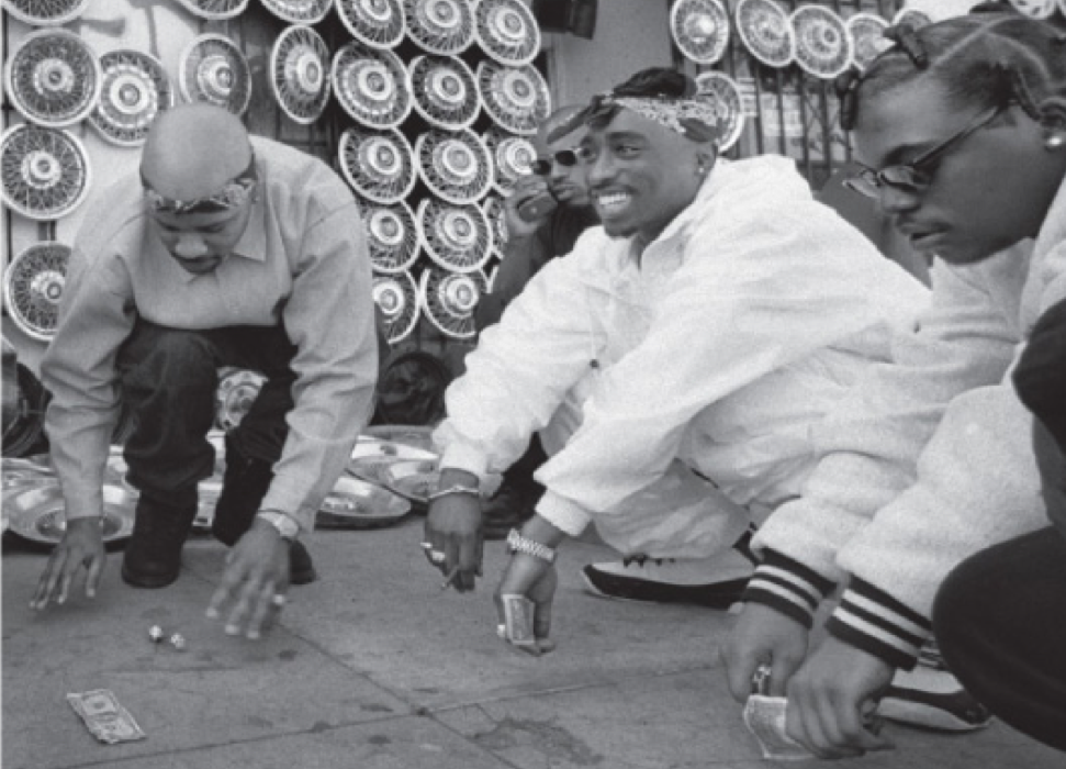 WEST COAST HIPHOP:  A HISTORY IN PICTURES BY MIKE MILLER 1