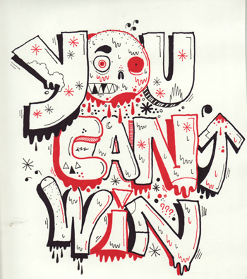 YOU CAN'T WIN - PEZ & JOSHUA BLANK - FIFTY24SF
