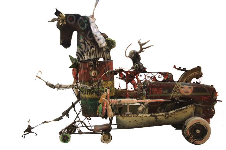 DavidChoe-MuseodelChopo-Snowmanmonkeybbq12