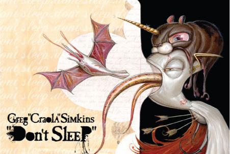 GREG 'CRAOLA' SIMKINS-FIFTY24SF-DON'T SLEEP