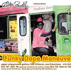 FAB FIVE FREDDY-REVOLT-SAM FLORES-ZEPHYR-FIFTY24SF-FUNKY DOPE MANEUVERS