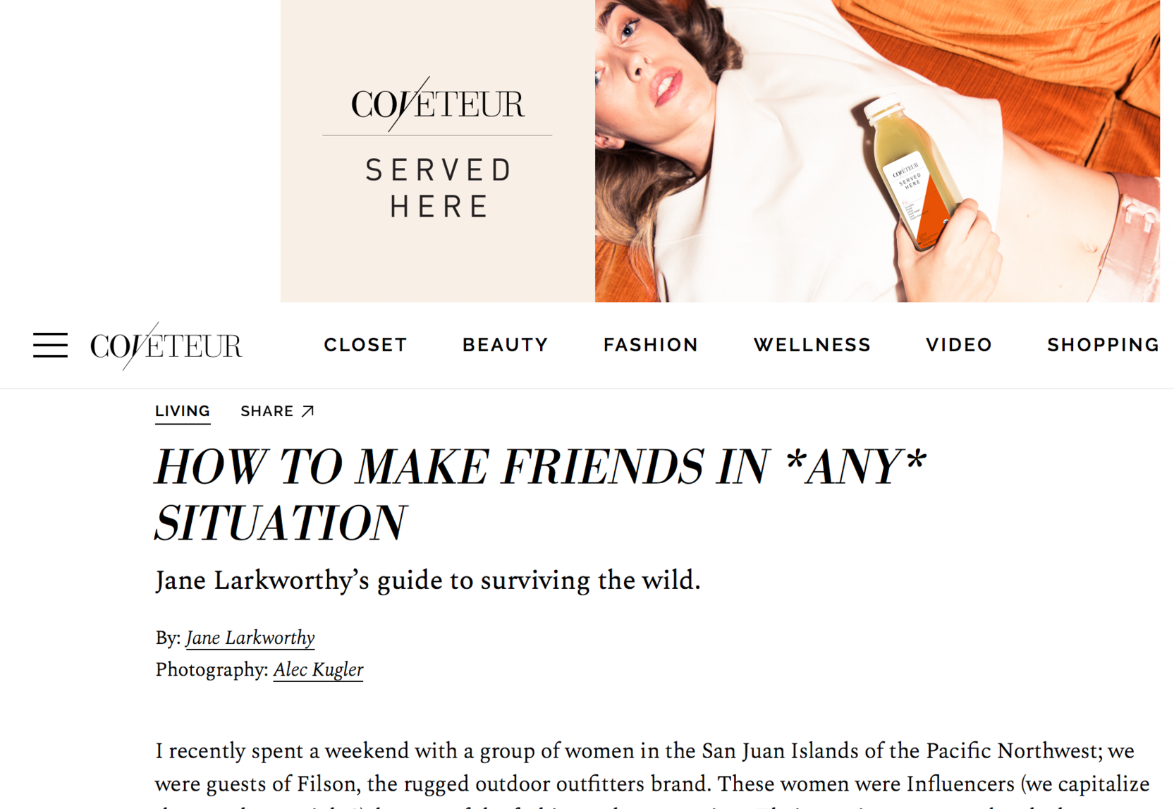 Coveteur Magazine -