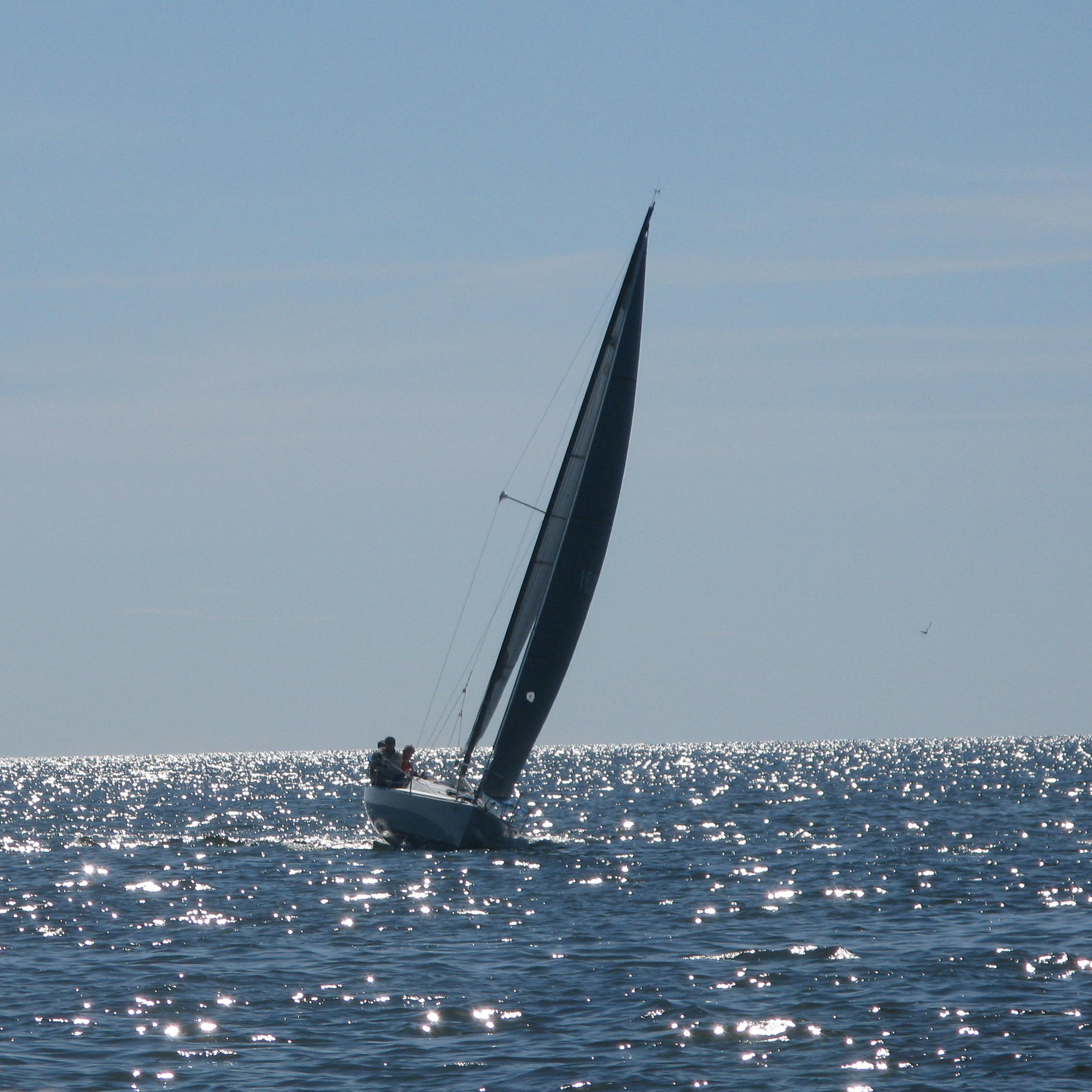 Olson 30 upwind