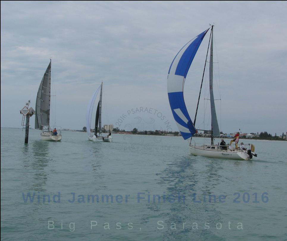 2016 Windjammer Finish Day 2