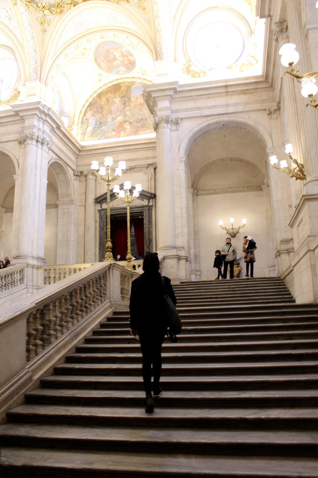 hey dahye royal palace of madrid pictures