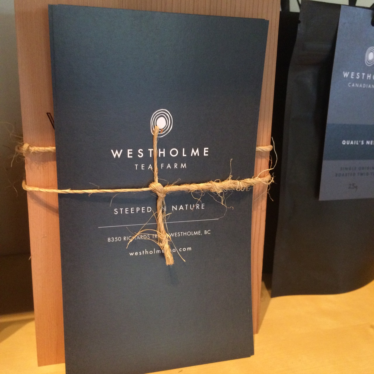 Images courtesy of Westholme Tea Co.