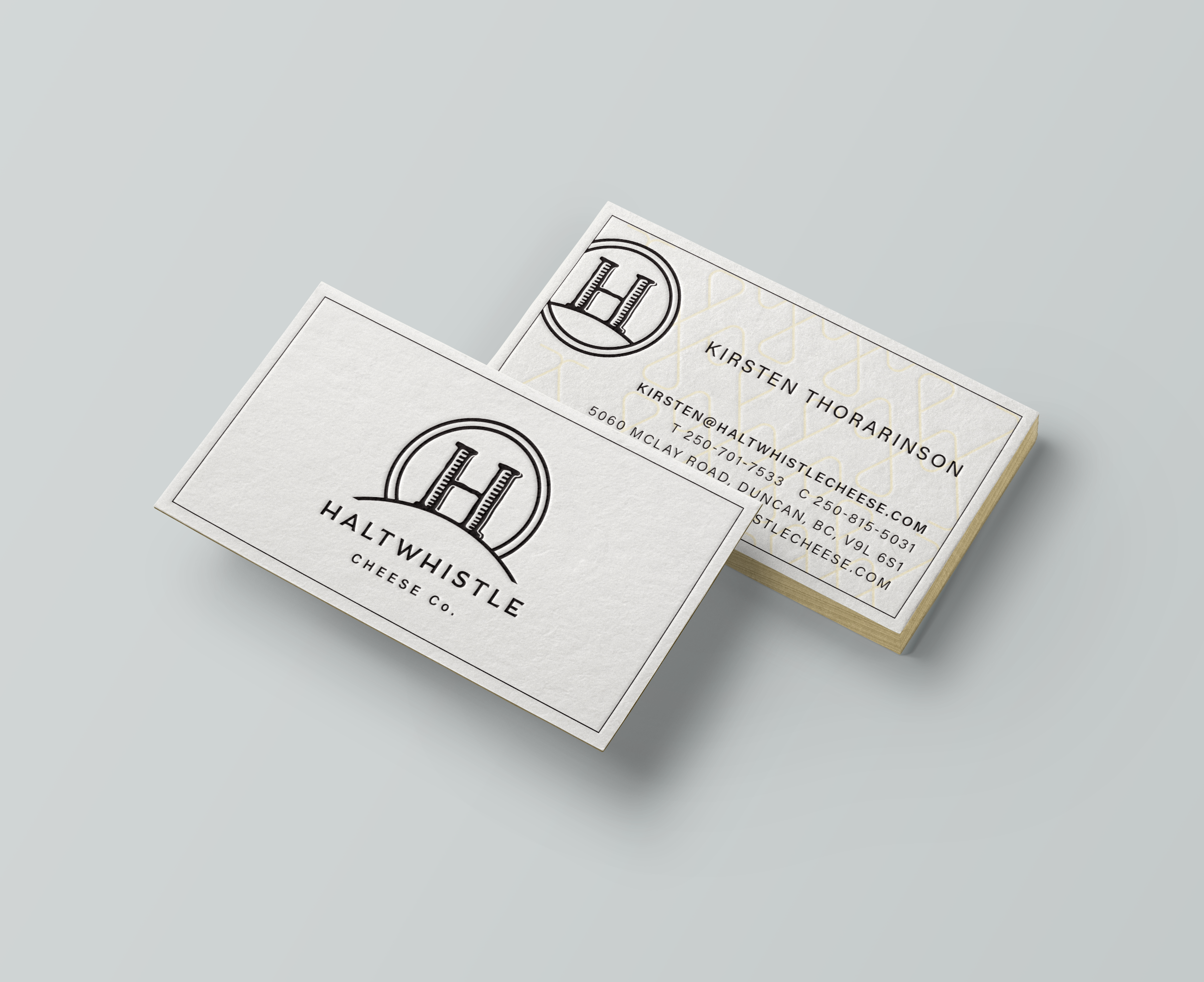 New logo and business card design