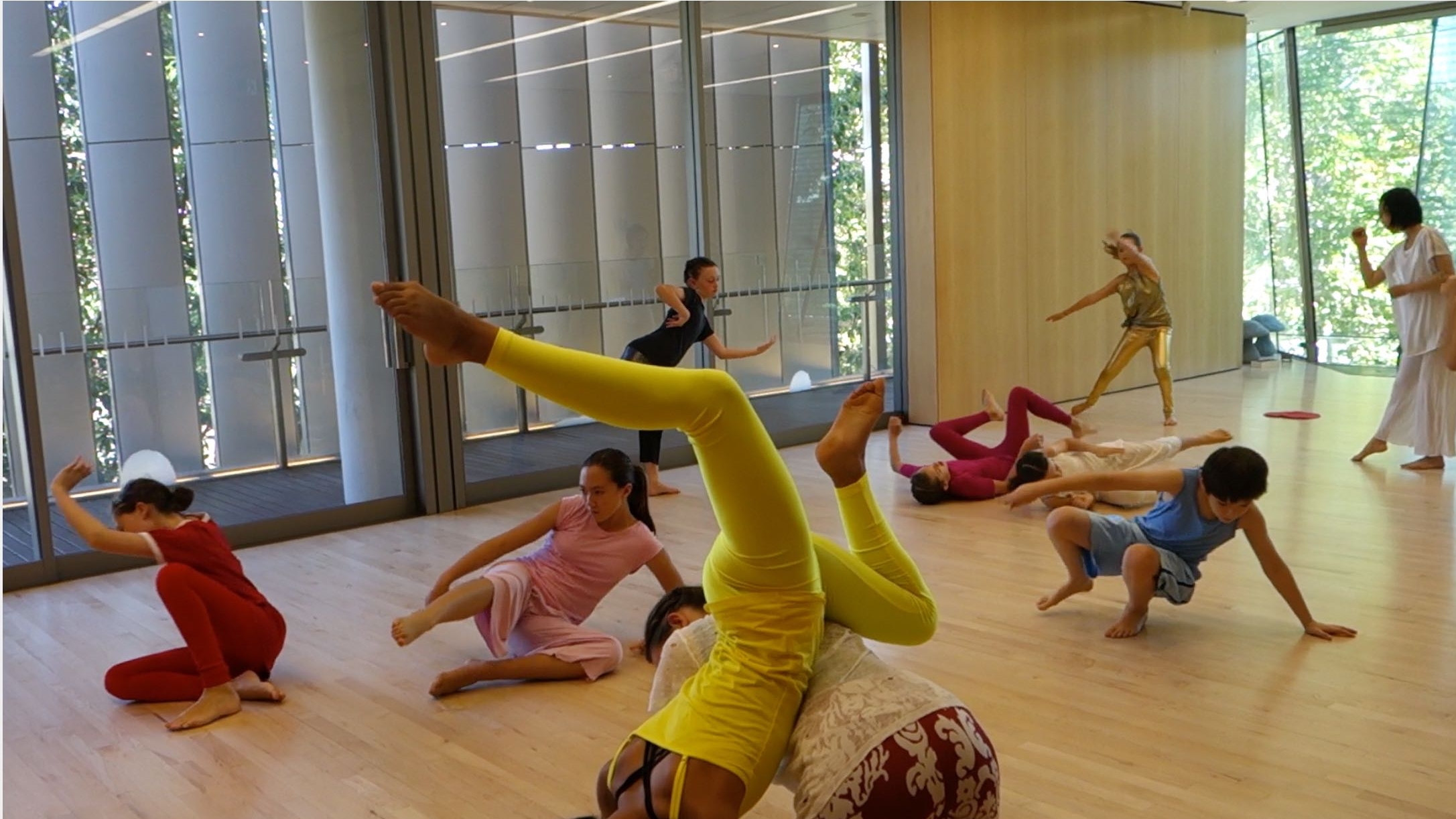 dancers at the 2018 Holiday Intensive