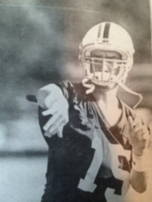 Lou Vanorski, WMC Wolfpack #15 (Just like Tim Tebow)