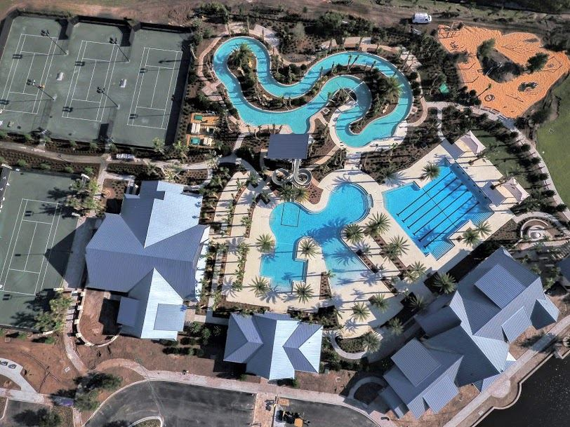 Shearwater Amenity Center Aerial View