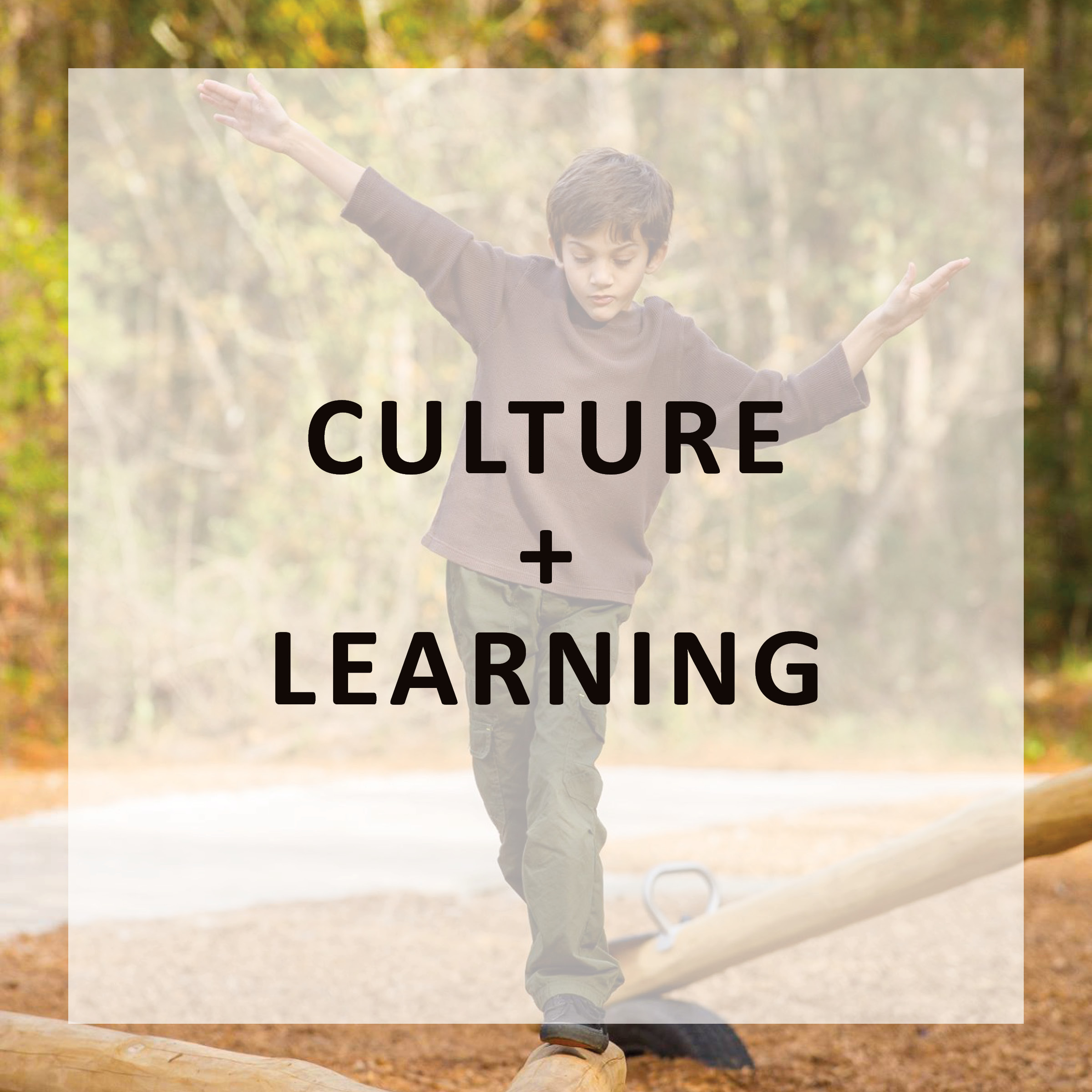 CULTURE + LEARNING