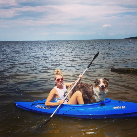 Otis and Sarah Kayaking.jpg
