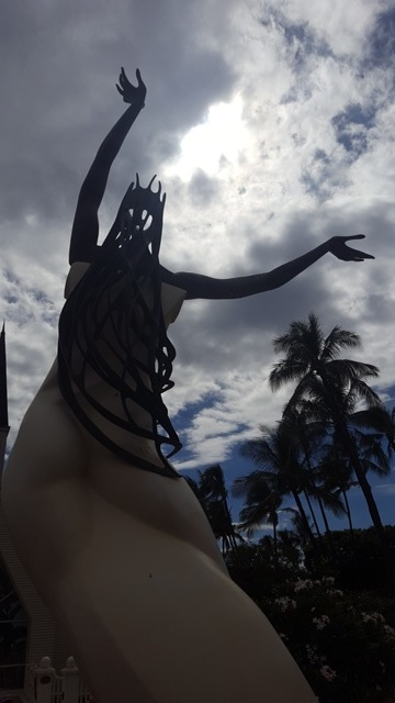 Statue @ Grand Wailea