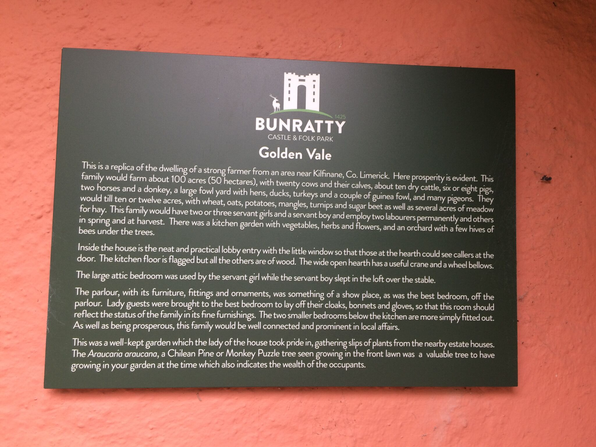 Bunratty Castle sign.jpg