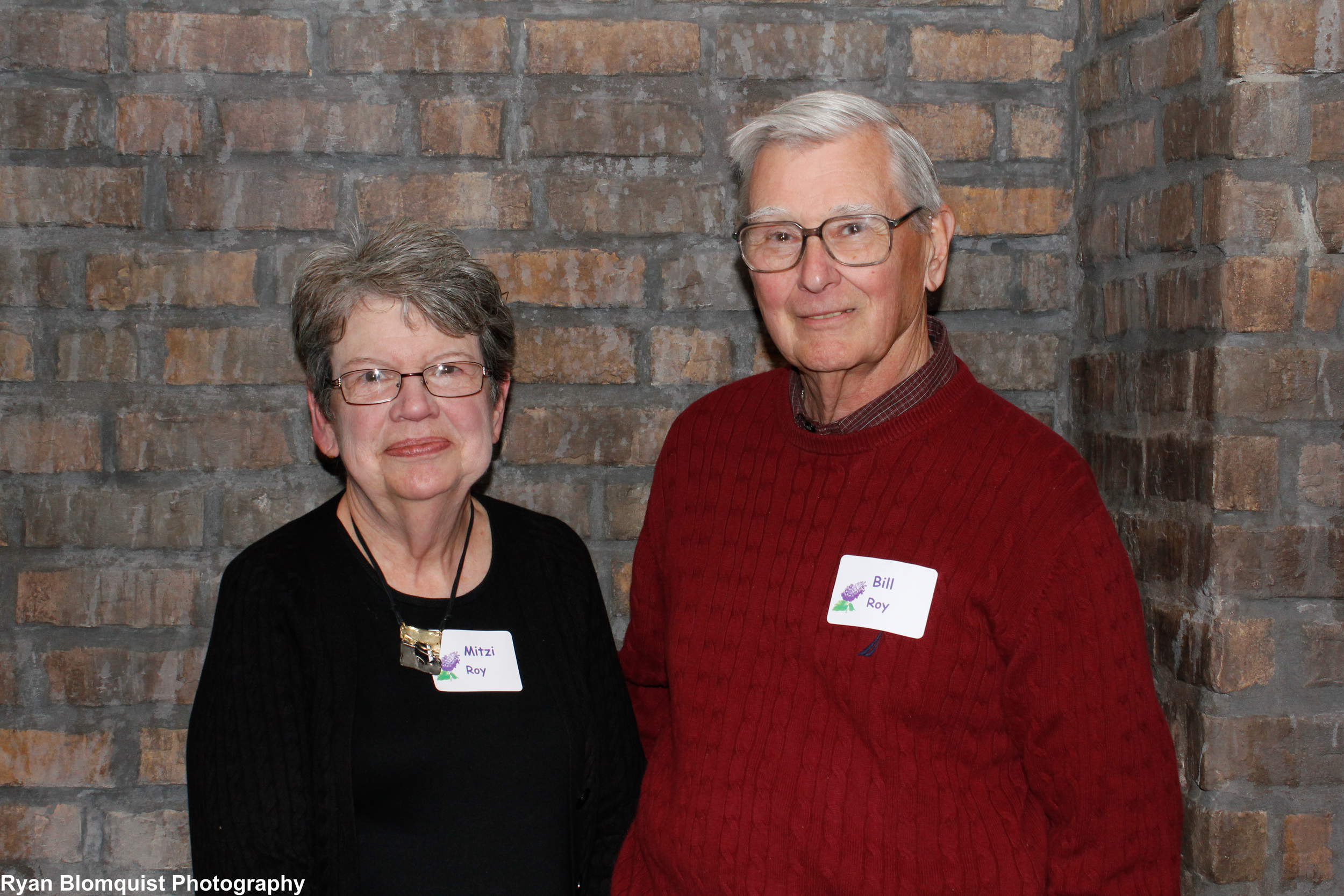 Bill and Mitzi at the Gathering's 2012 volunteer event