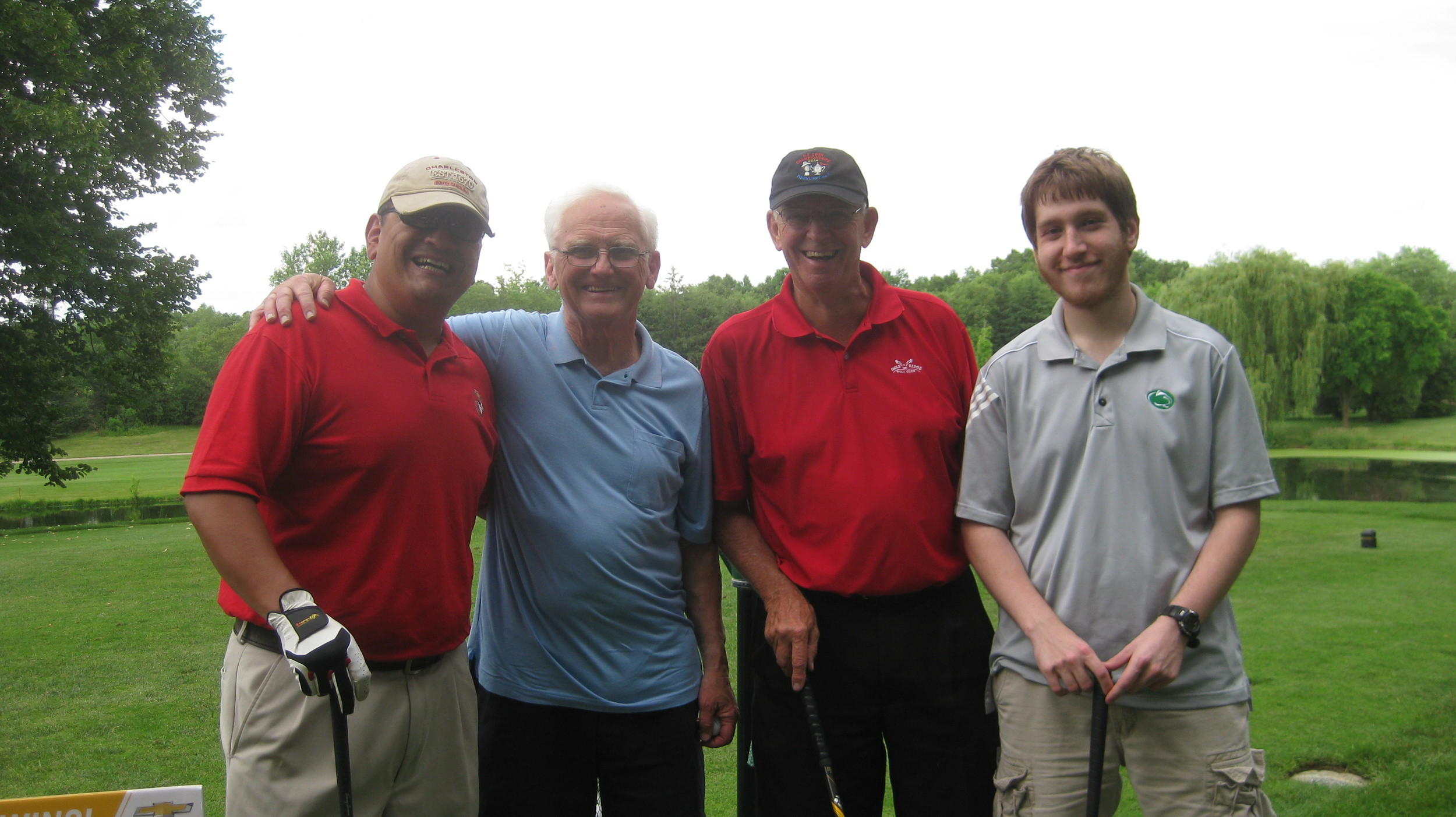 John, Dick, Dick and Joe - a talented golf foursome