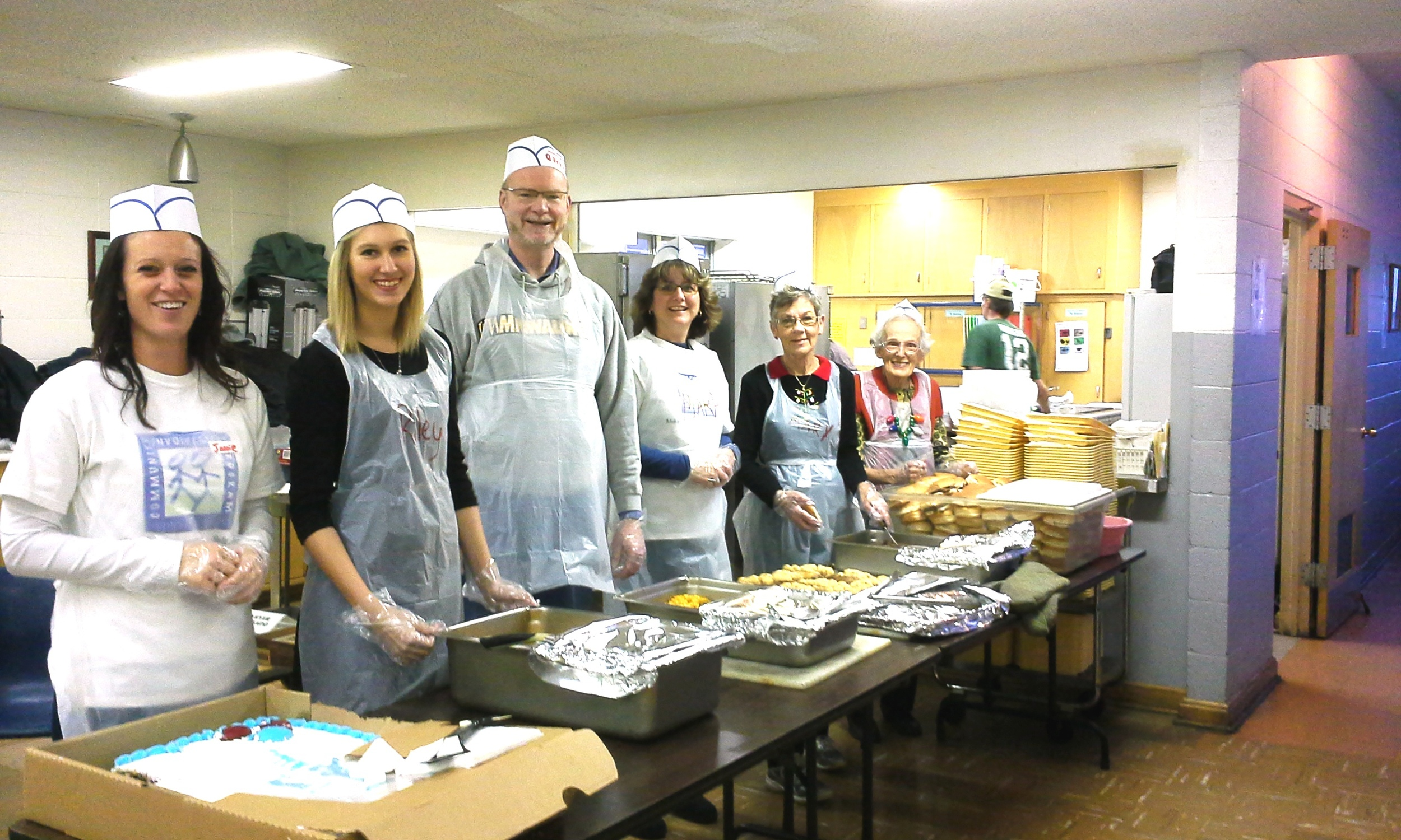 Johnson Controls volunteers