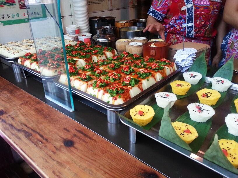 Interesting street food in Chengdu, China