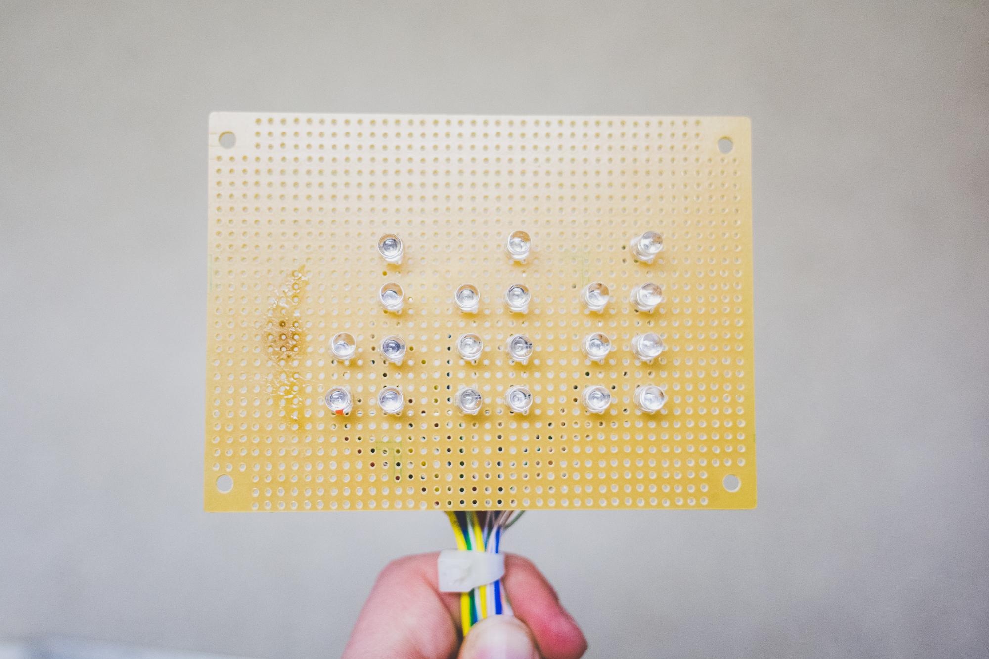 Prototyping LED Display