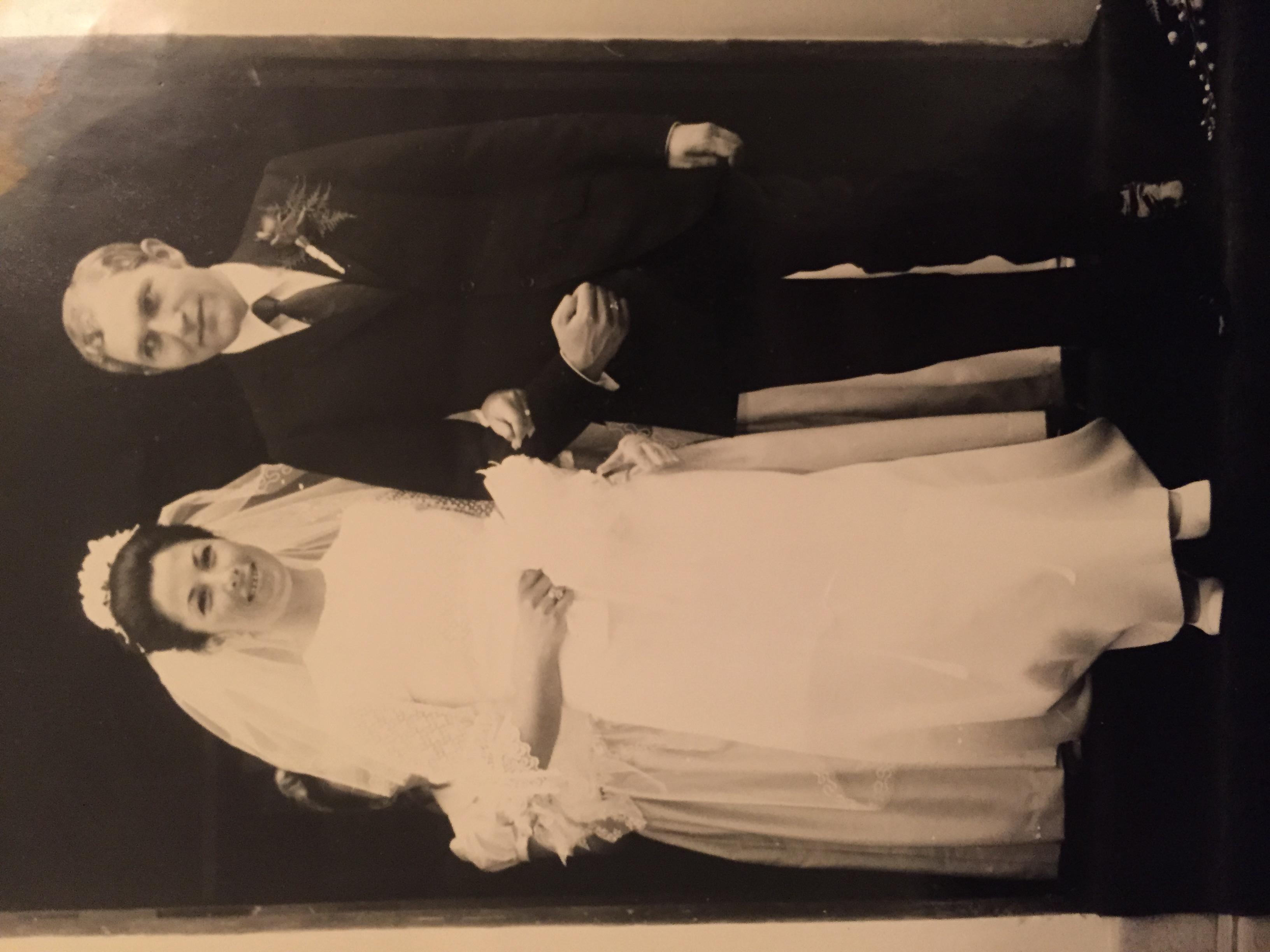 Mum & Dad's wedding in Rabat, Morocco, 1971