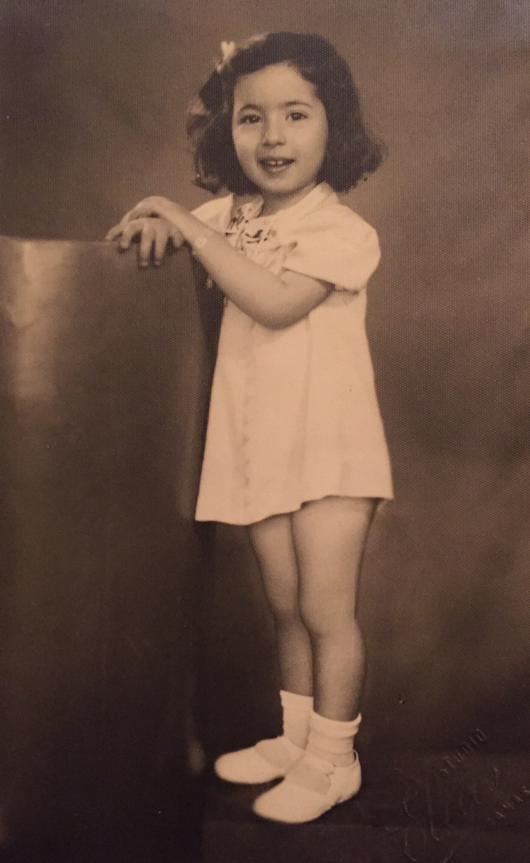Mum aged 5