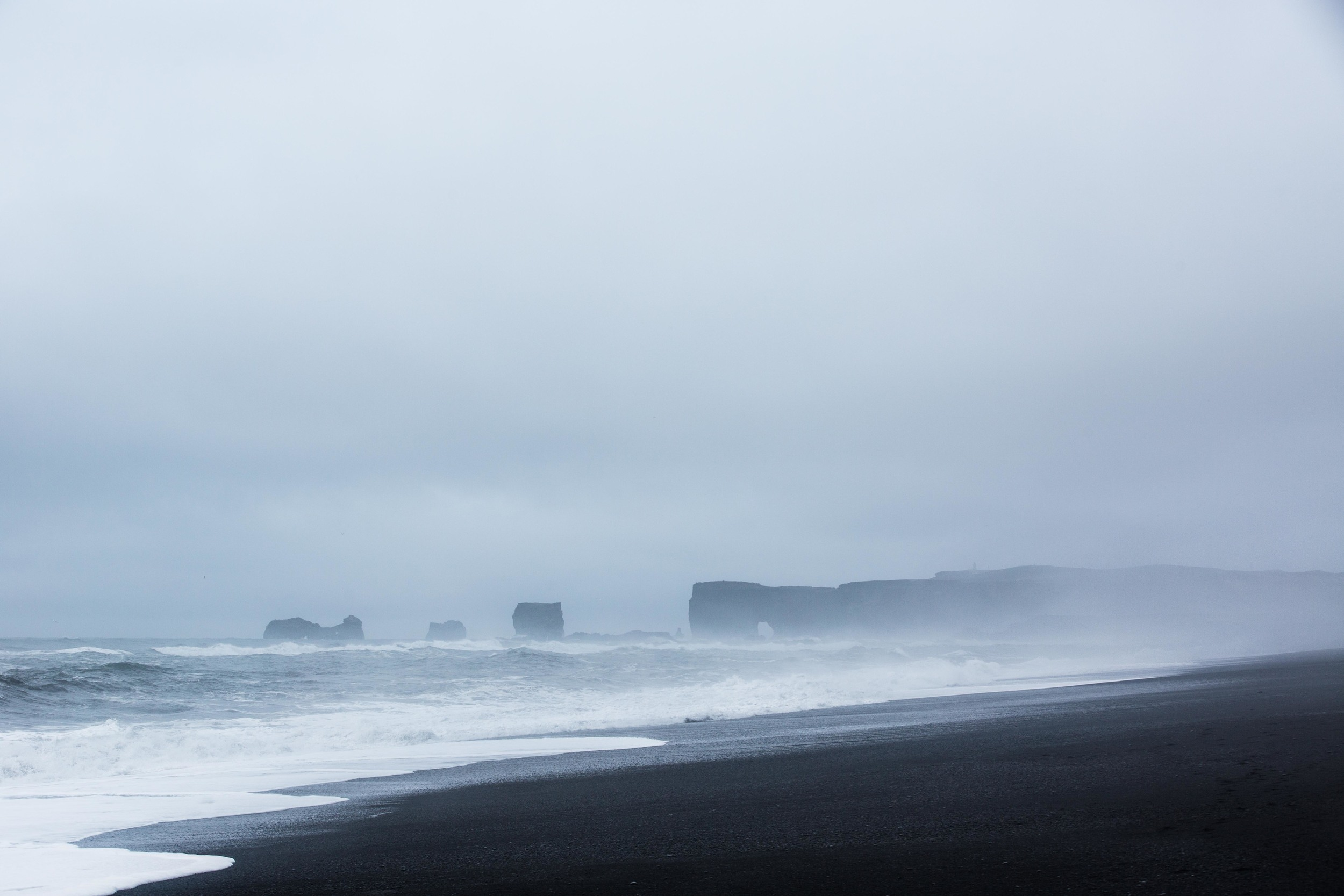 The shores of Vik.