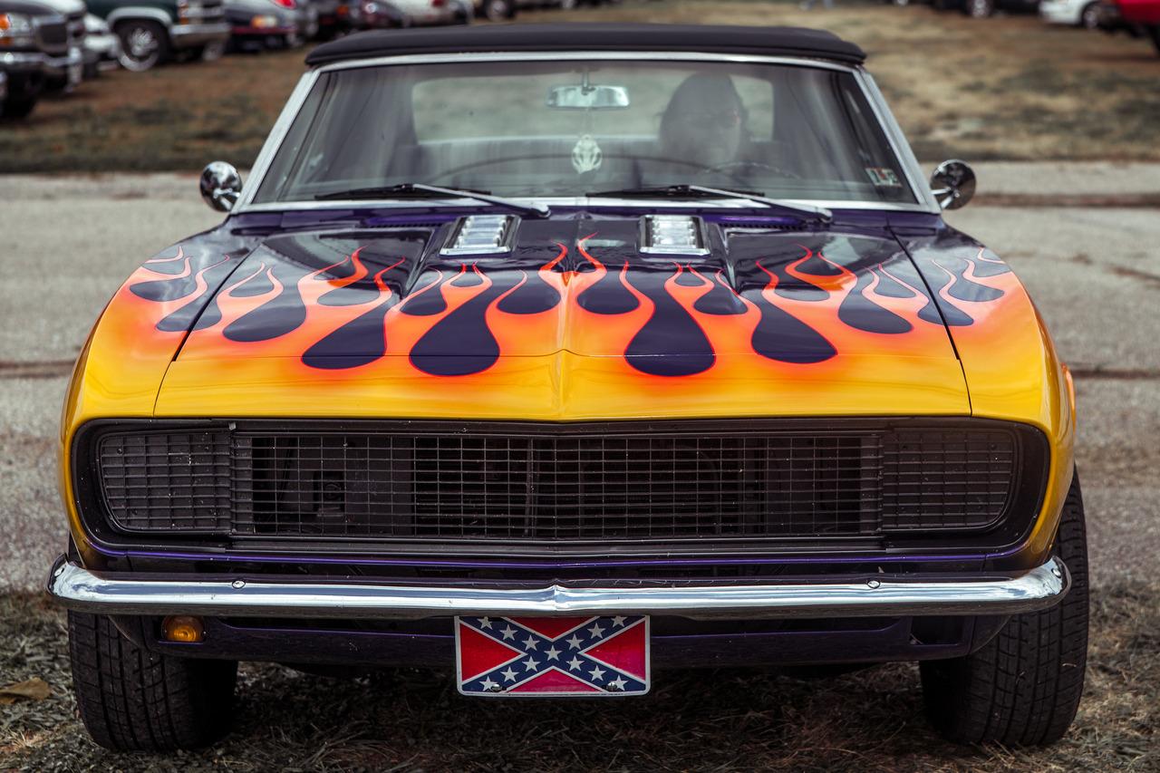 Car at the Baltimore car show