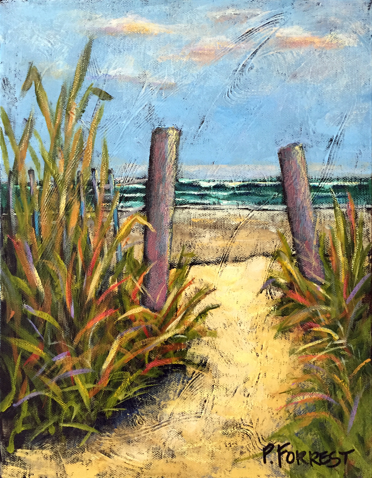 BEACH GRASS (SOLD)