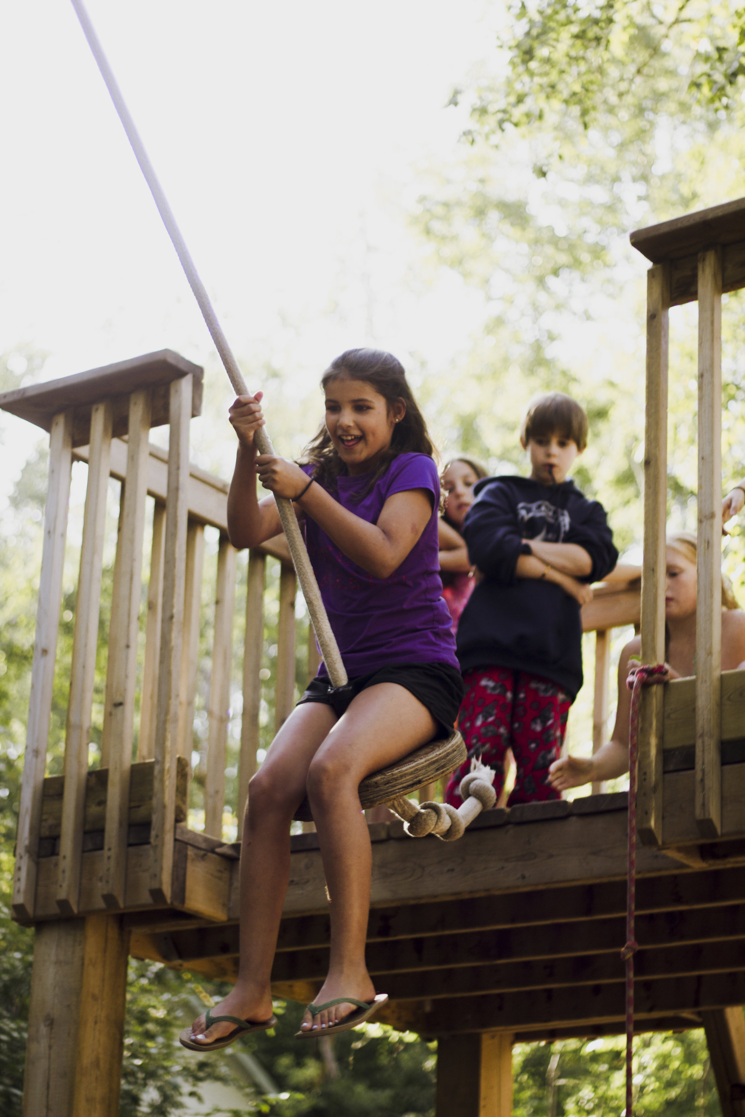 Camp Kadesh Jungle Swing