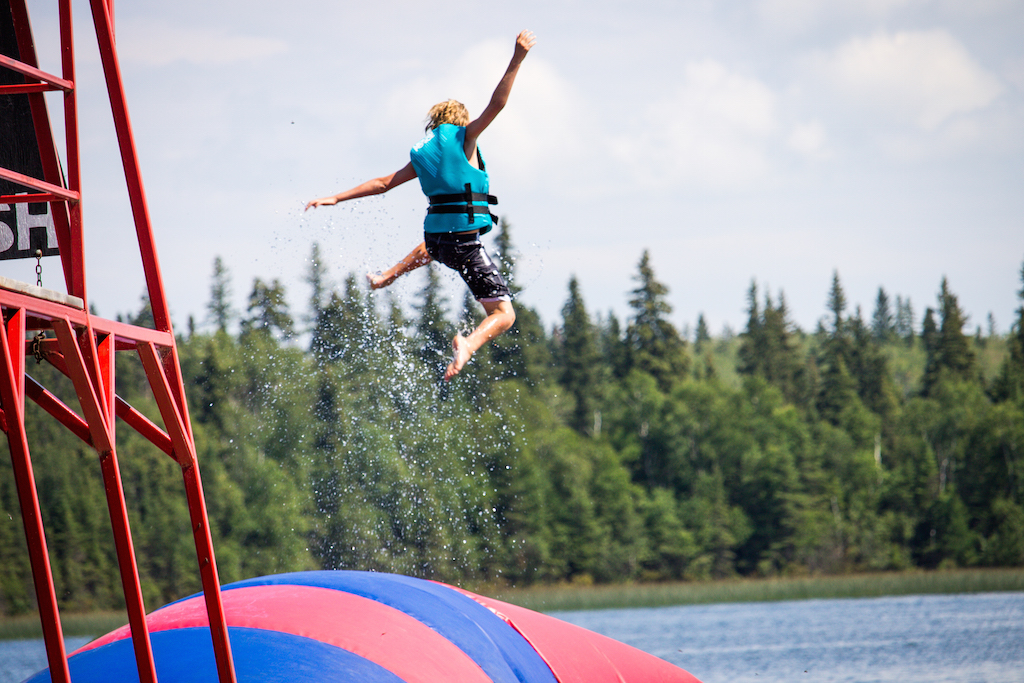 Camp Kadesh the Blob Jump
