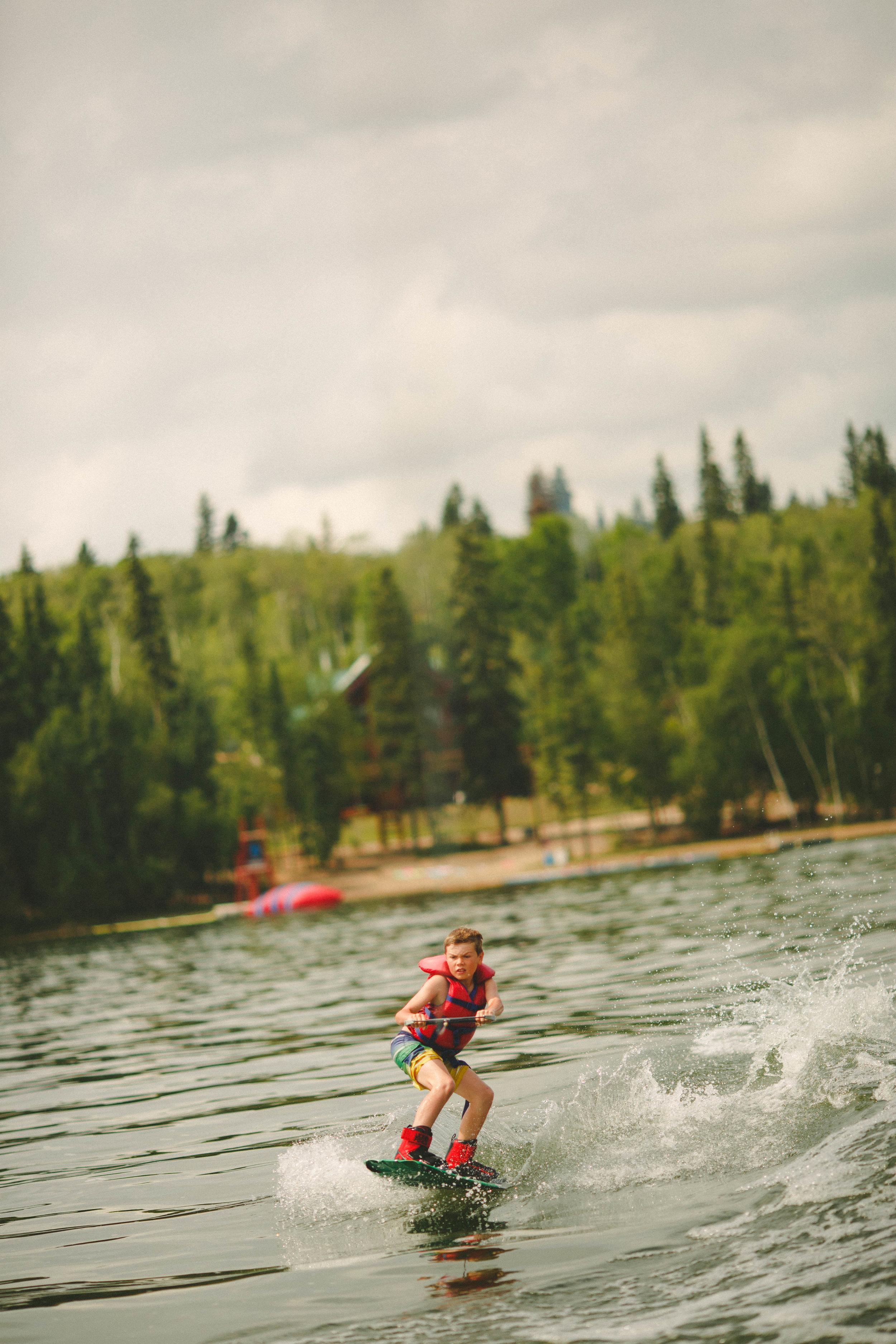 Kids Saskatchewan Water Sports