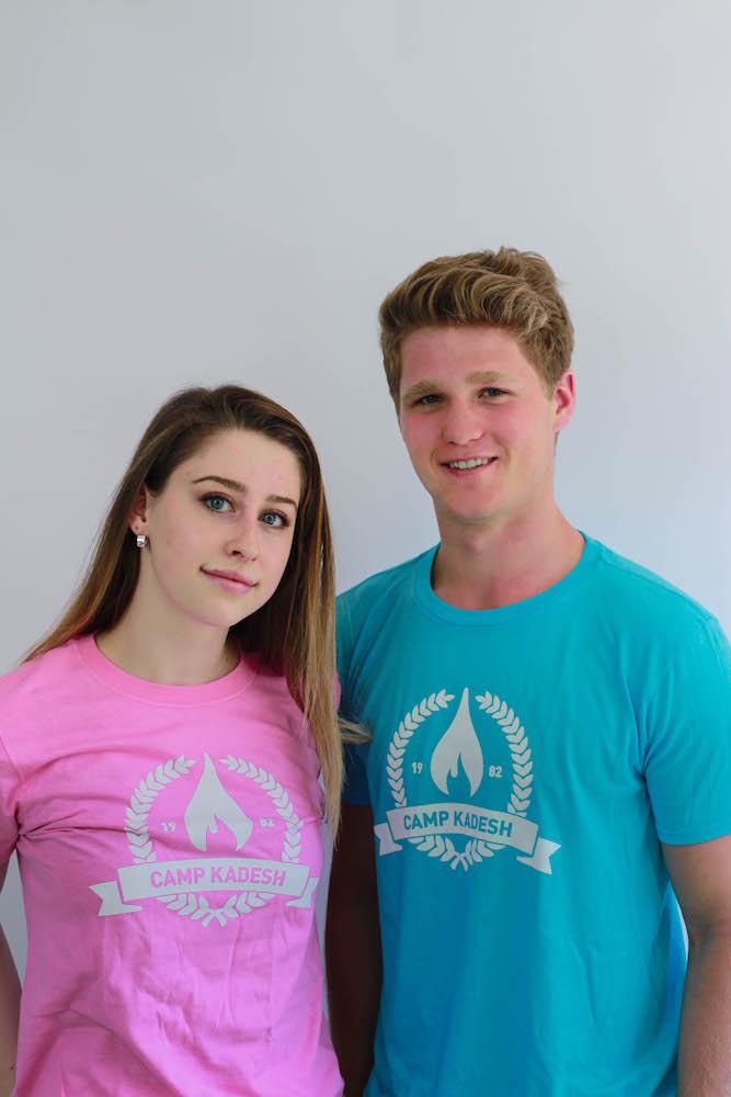 Kadesh Pink and Blue T-shirts