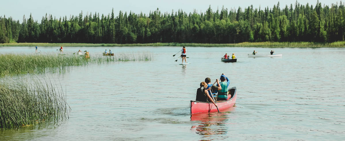 Canoe and SUP Camp Kadesh Saskatchewan