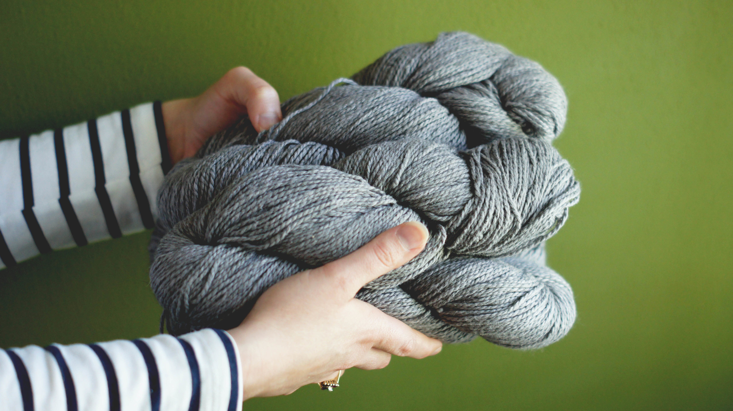 Acanthus House | Gate Pullover Yarn Substitution