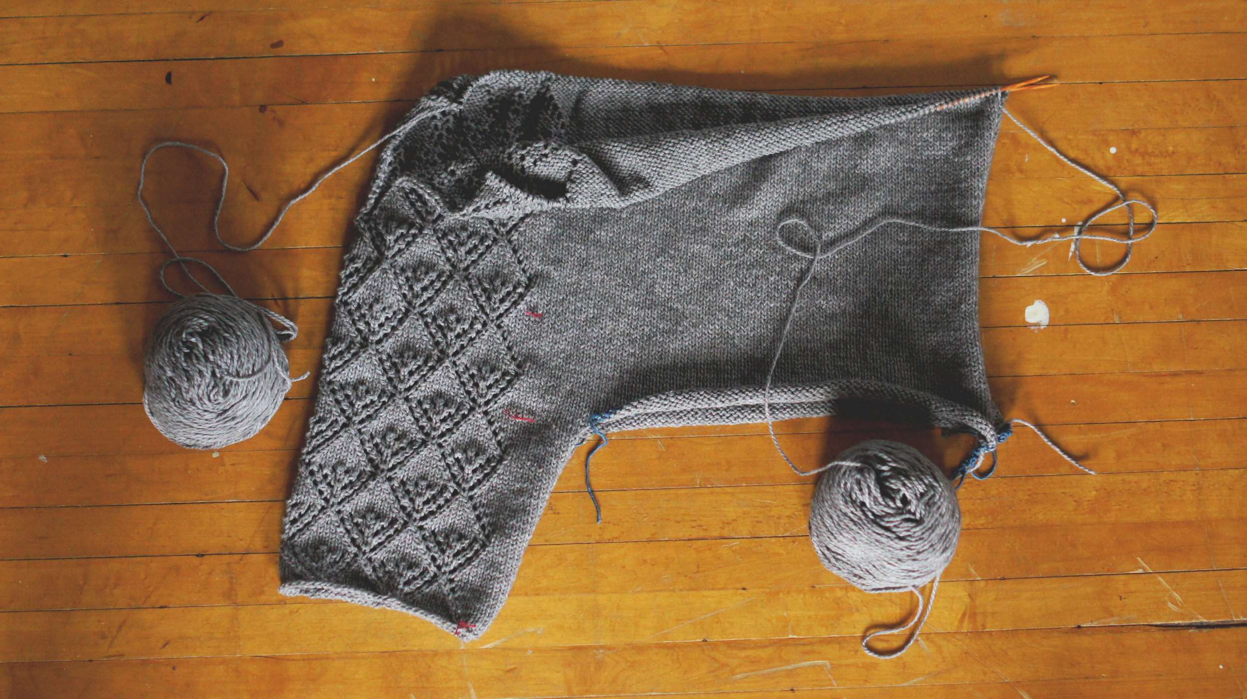 Acanthus House | Gate Pullover Halfway Complete