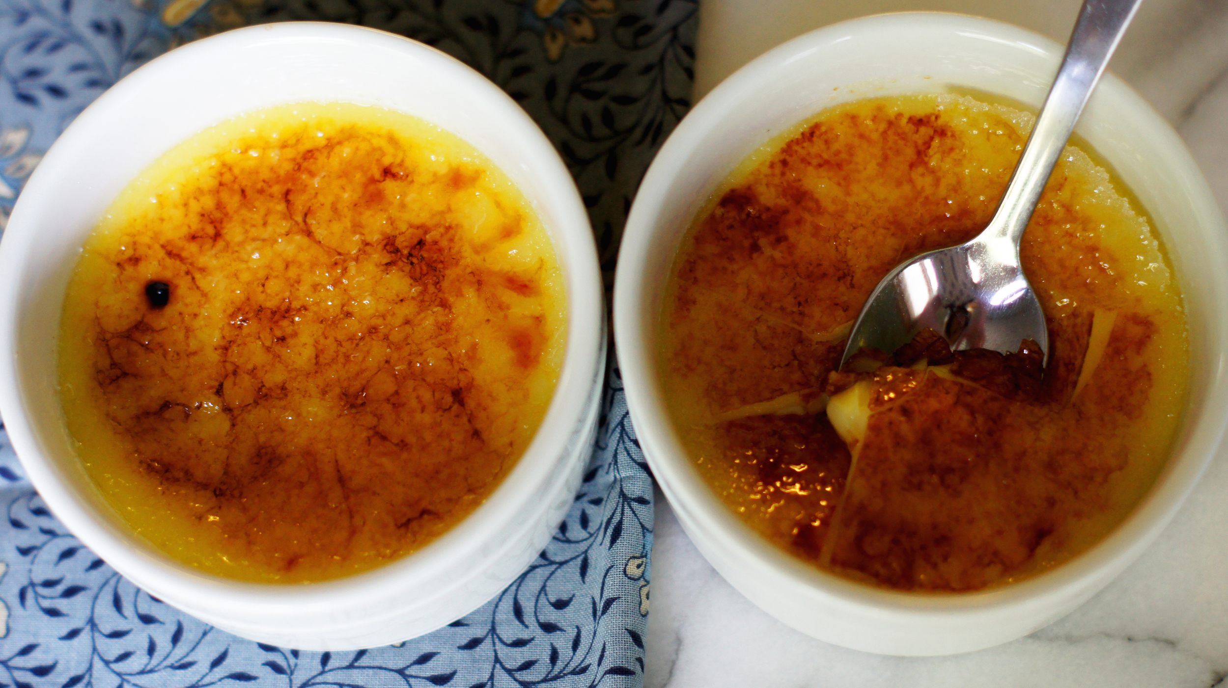 Acanthus House | Cracked Creme Brulee