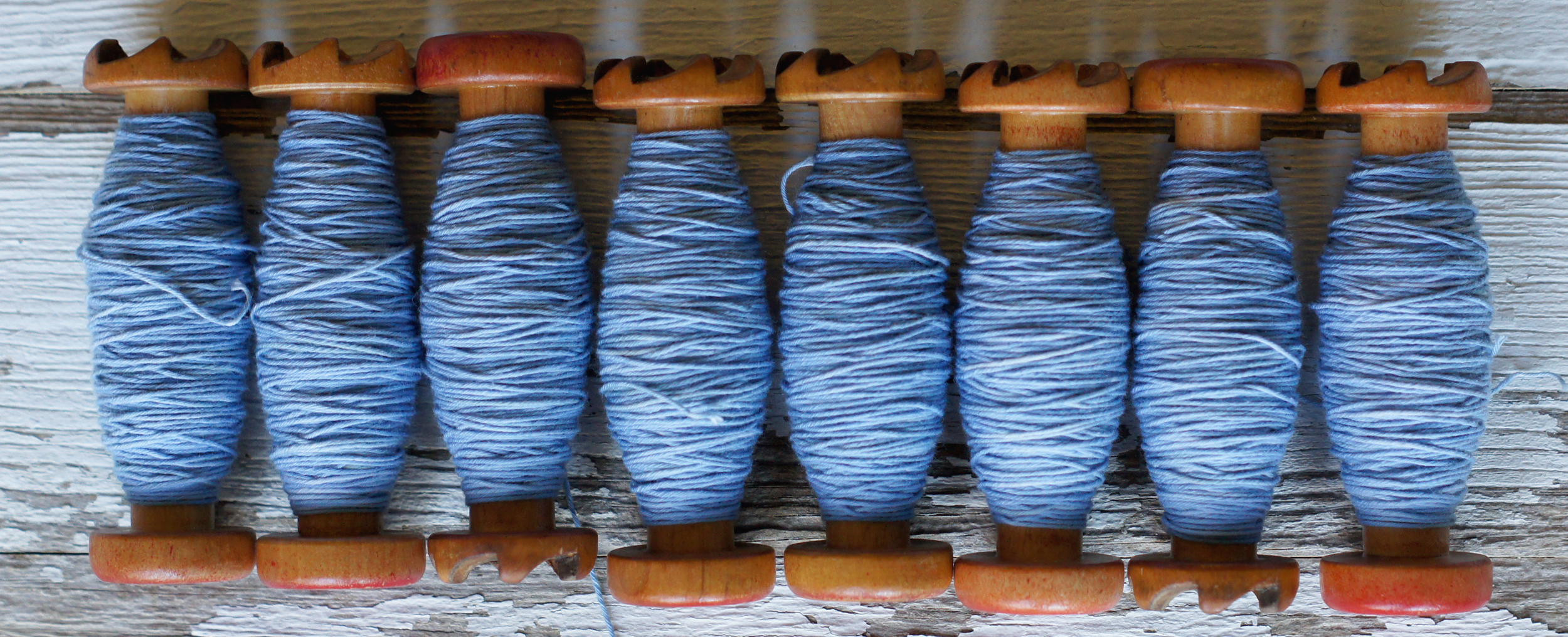 Acanthus House | Sashiko Thread Dyed with Indigo