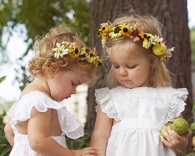 Another favorite from my recent photo series with Eliza and Ruby inspired by Sibylle von Olfers.⁠ ⁠ ⁠ #firsttimemom #motherhoodunplugged #motherhoodthroughinstagram #girlmom #slowmotherhood #momentsofmine⁠ #childhood #childphotography⁠ #flowercrown #floralcrown #faerie⁠