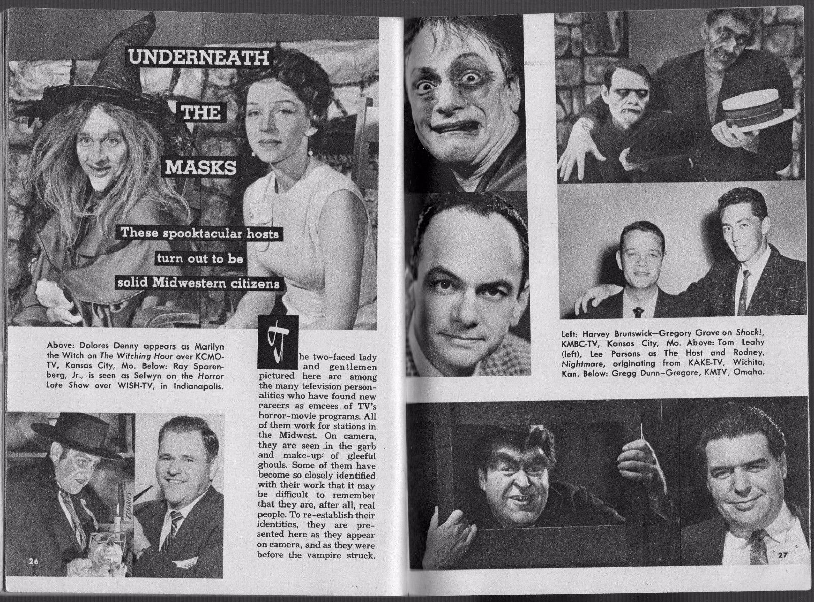 TV Guide article  From Dec 1958
