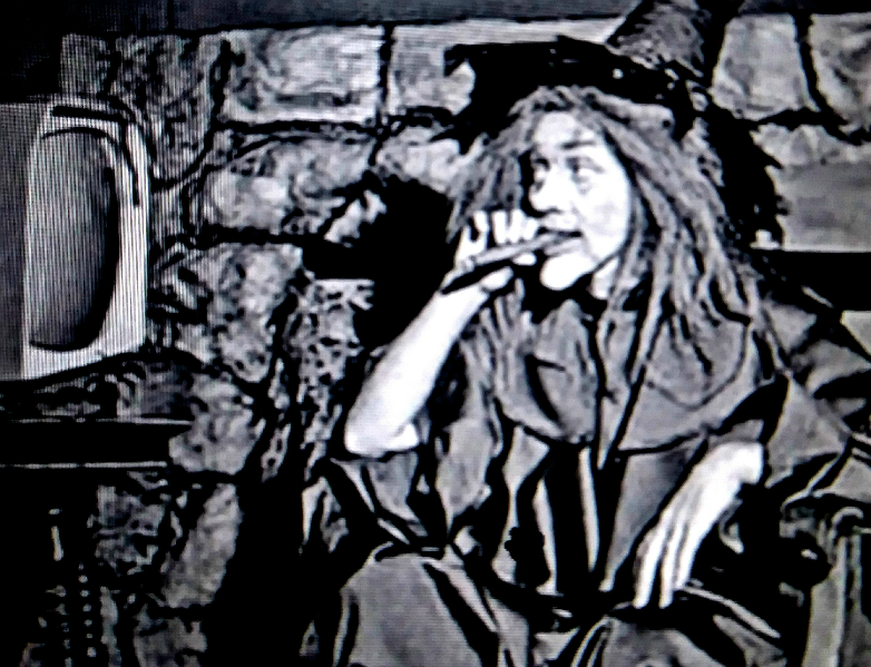 """Marilyn The Witch aka Delores Denny aka Nora """"Dodo"""" Denney  """"The Witching Hour""""  KCMO-TV  195?-1959"""