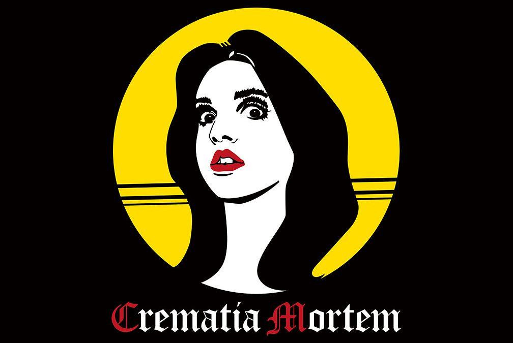 """Crematia Mortem """"Creature Feature"""" t-shirt design  By artist Bradley Beard  Fear What You Wear  Click image to go to store"""