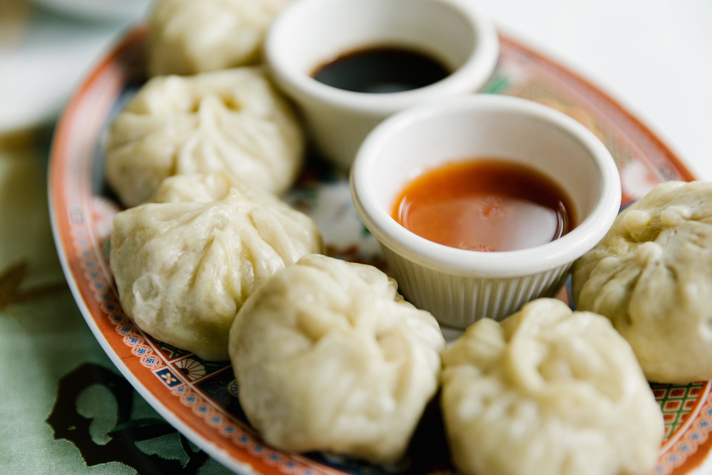 Dumpling midwest editorial food photographer
