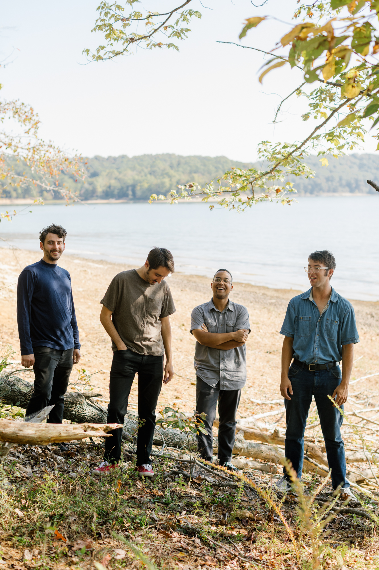 Music photography of band Thunder Dreamer at Lake Monroe in Bloomington, Indiana.