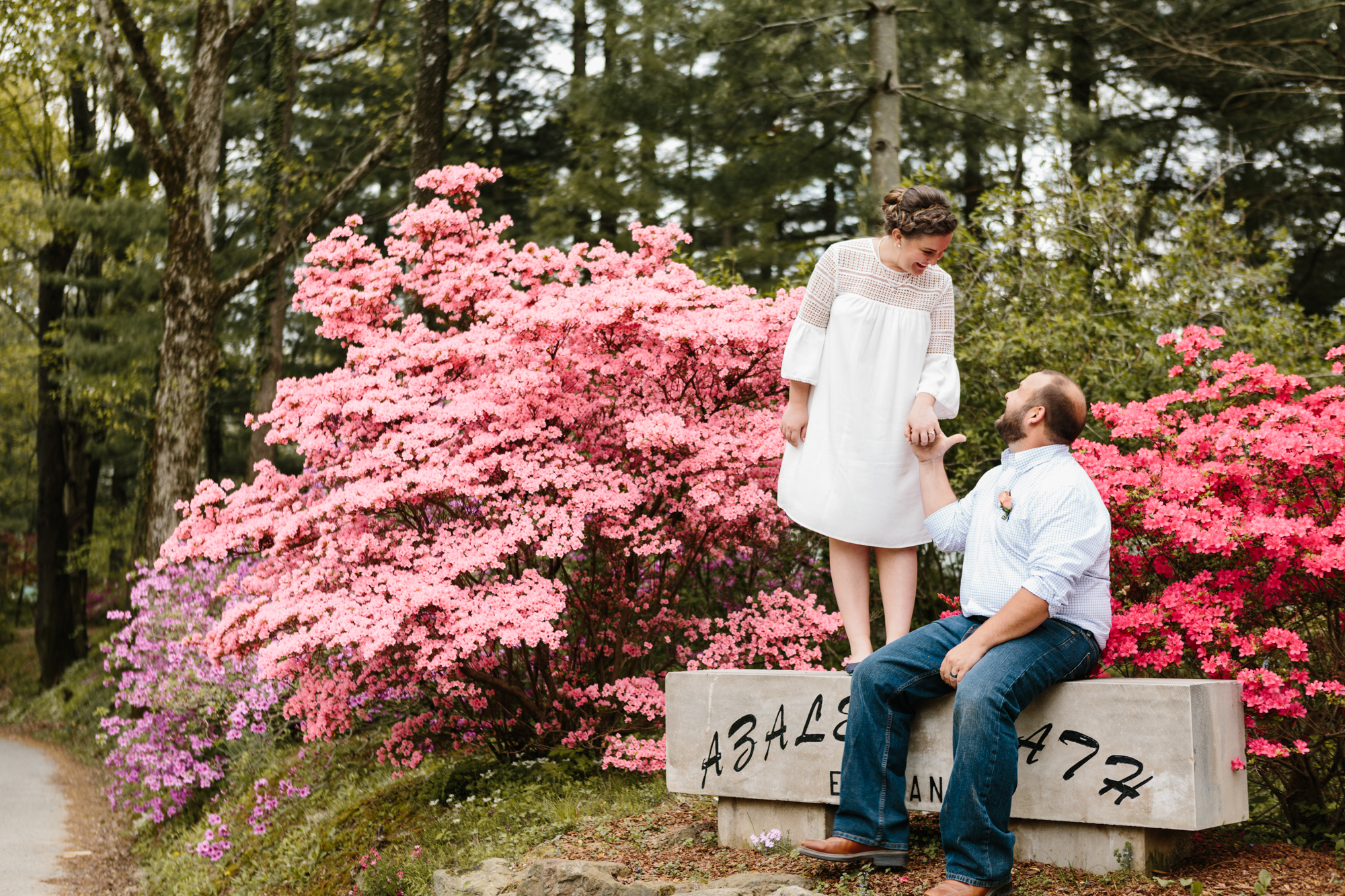 Natalie and Kyle's wedding photography from their elopement in Bloomington, Indiana.